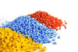 plastic polymer granules